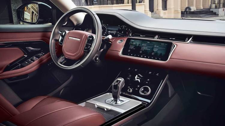 Interior Range Rover Evoque