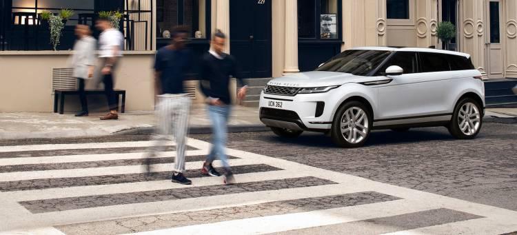Range Rover Evoque 2019 Blanco Diesel Frontal Exterior