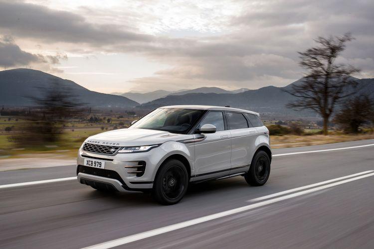 Range Rover Evoque 2019 Gris Movimiento 15