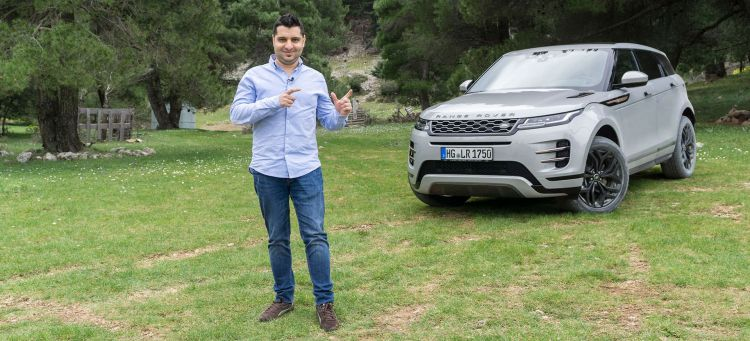 Range Rover Evoque 2019 Prueba Video