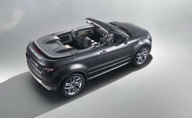 Luz verde para el Range Rover Evoque Convertible