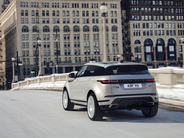 Range Rover Evoque Cristales