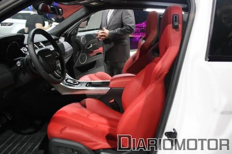 Range Rover Evoque en el Salón de París