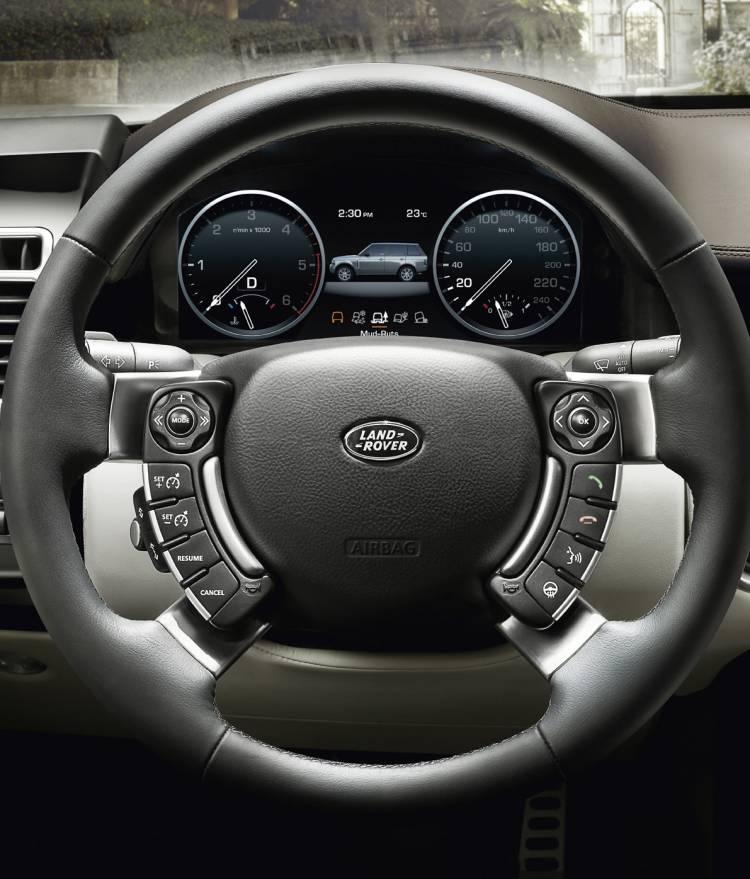 """Pantalla TFT de 12"""" para Range Rover"""