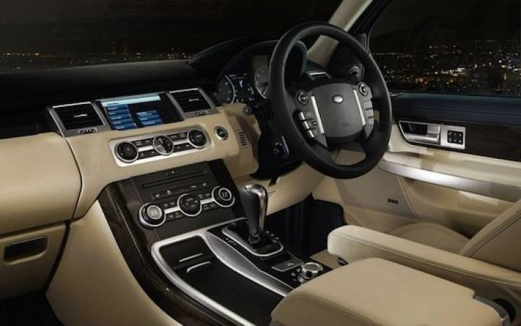 Range Rover Sport 2010, interior