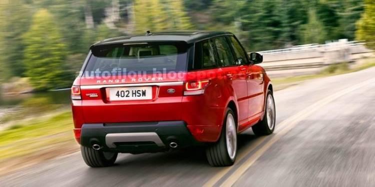 Primeras imágenes filtradas del nuevo Range Rover Sport 2013