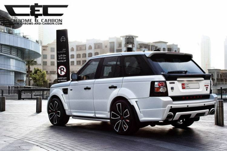 Range Rover Sport Chrome and Carbon
