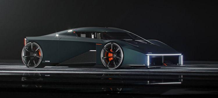 Raw Koenigsegg P