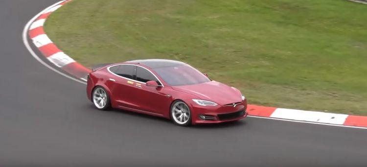Record Tesla Model S Nurburgring