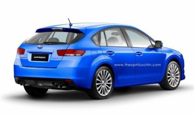 Recreaciones del próximo Subaru Impreza