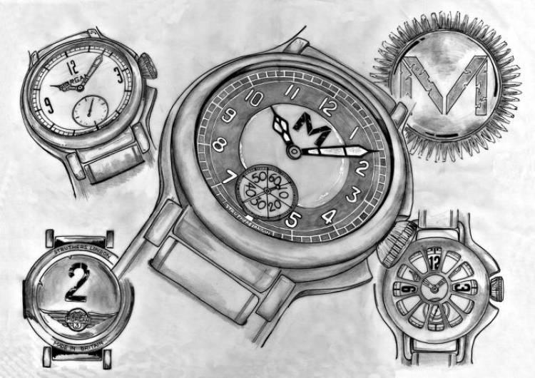 Struthers y Morgan: conexión británica en forma de reloj