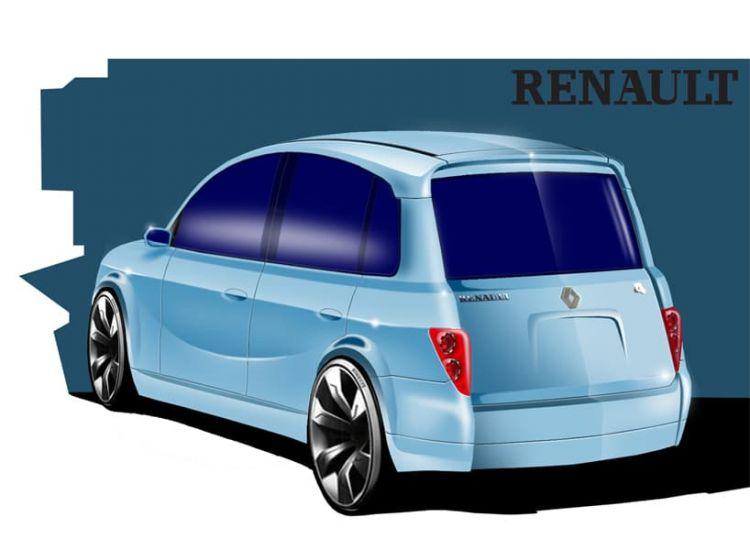 Renault 4 Concept Duarte Andrade 2