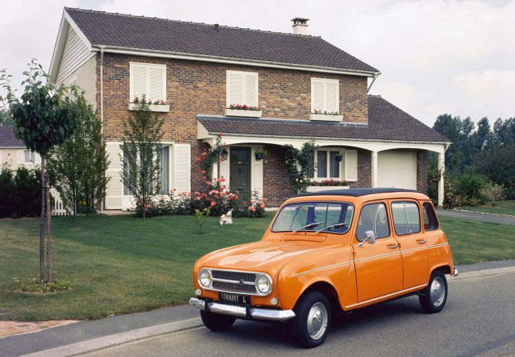 Renault 4 Naranja