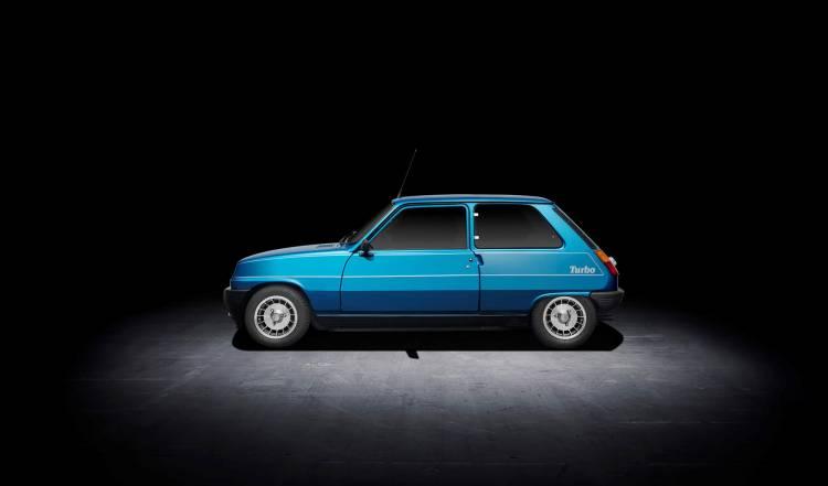 Renault 5 Copa Turbo 1981 Azul 01