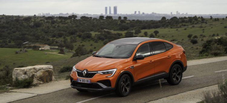 Renault Arkana Hibrido Prueba  01
