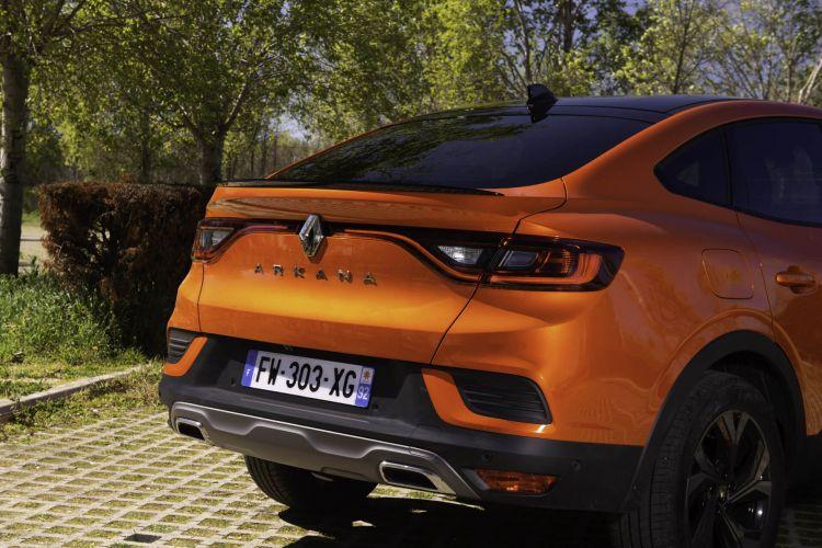 Renault Arkana Hibrido Prueba 10