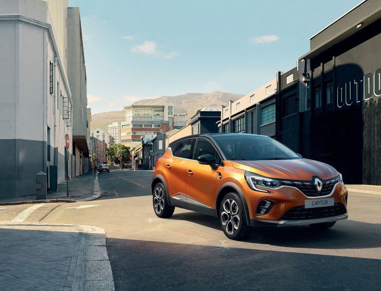 Renault Captur 2019 Naranja Atacama Exterior 10