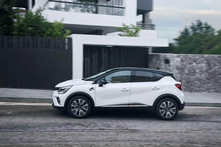 Renault Captur Blanco Exterior Dinamica 00007