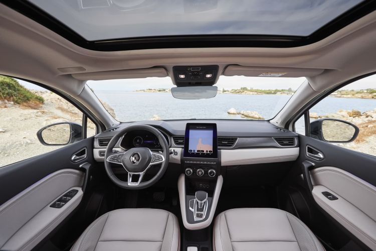Renault Captur Blanco Interior 00005
