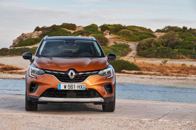 Renault Captur Naranja Exterior 00010
