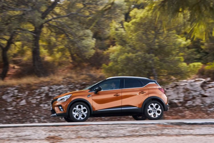 Renault Captur Naranja Exterior Dinamica 00007