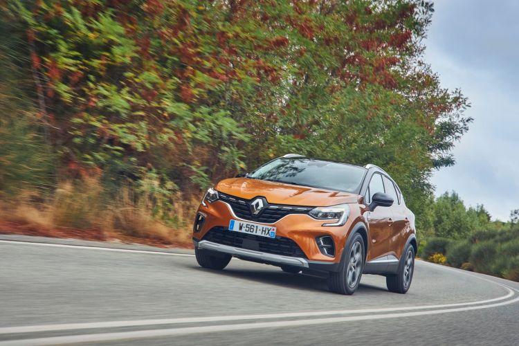Renault Captur Naranja Exterior Dinamica 00021