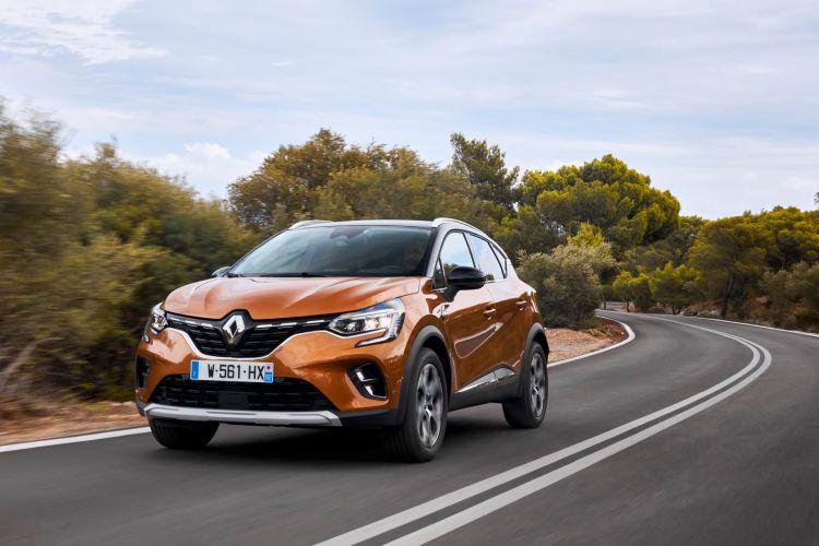 Renault Captur Naranja Exterior Dinamica 00025