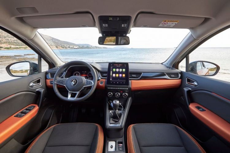 Renault Captur Naranja Interior 00001