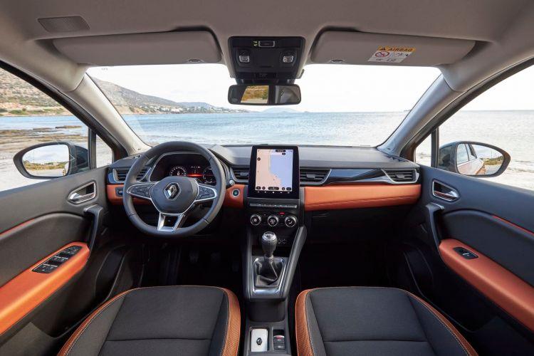 Renault Captur Naranja Interior 00002