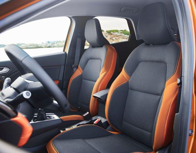 Renault Captur Naranja Interior 00004