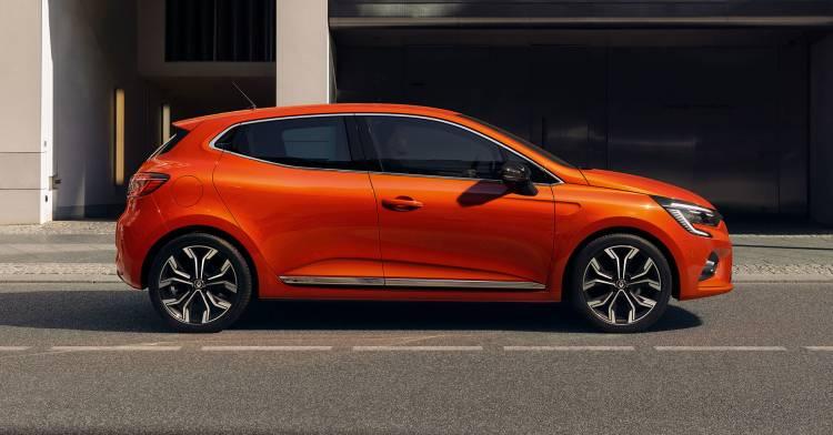 Renault Clio 2019 Naranja Exterior 01 Lateral