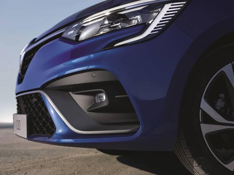Renault Clio 2019 Rs Line Azul 01