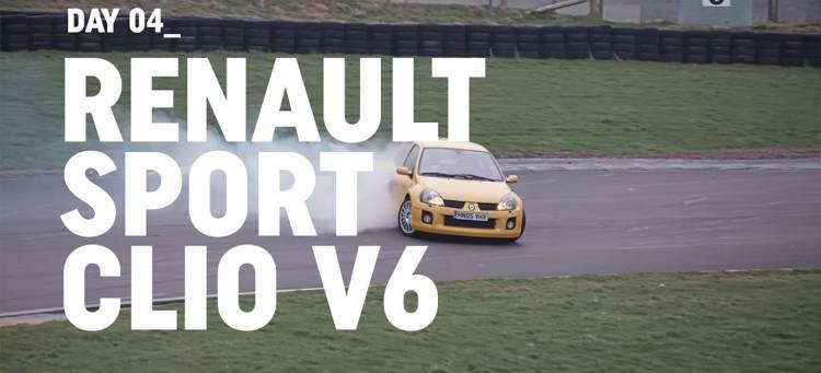 renault-clio-v6-video-drifting