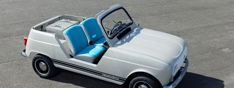 Renault Coche Clasico Electrico Portada