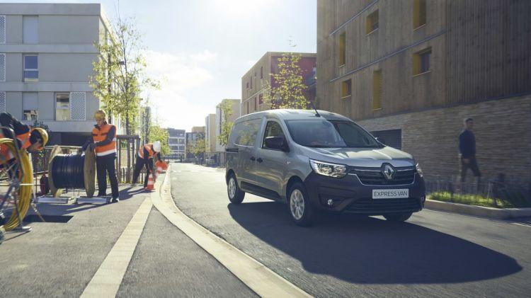 Renault Express 2021 Gris 08