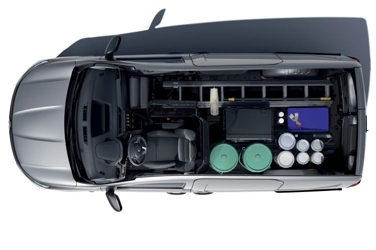 Renault Express 2021 Gris Interior 5
