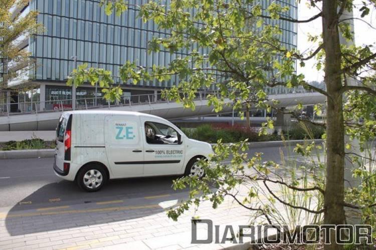 Renault Kangoo Express Z.E., presentación en París