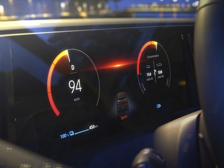 Renault Megane 2022 3 Pantallas
