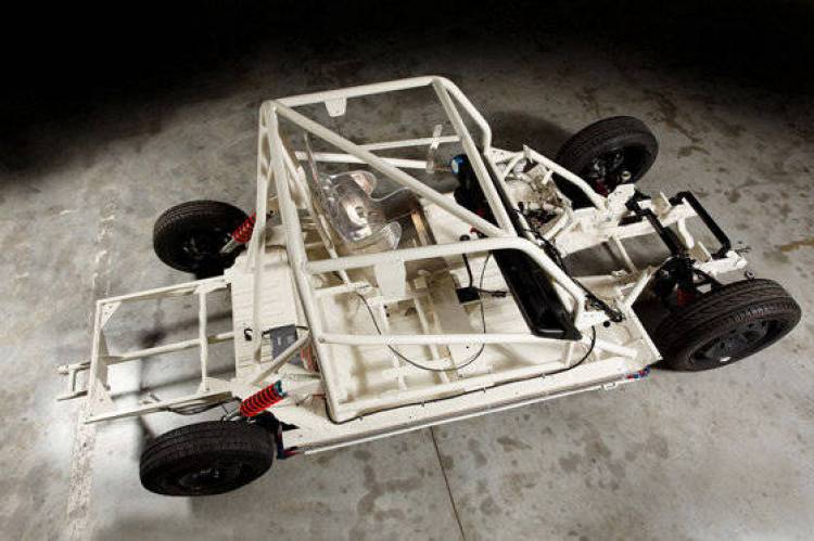 Chasis del Renault 4 Bonneville Racer