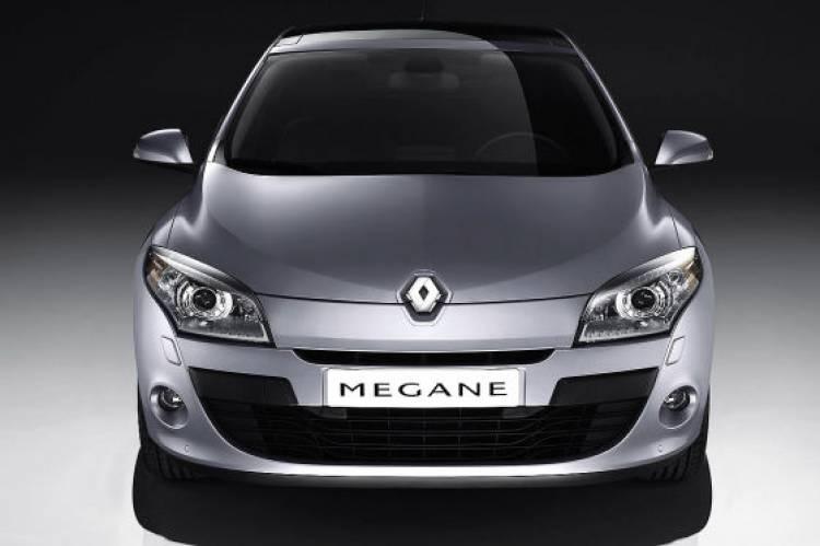 Renault Mégane III frontal