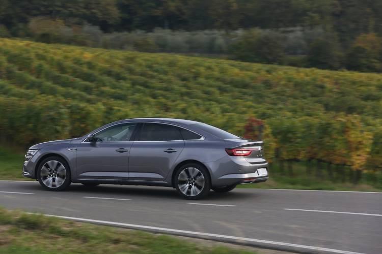 Renault Talisman (lfd) Press Tests At Florence