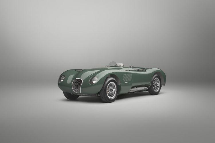 Replica Jaguar C Type 70 Aniversario 04
