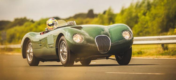 Replica Jaguar C Type 70 Aniversario Portada