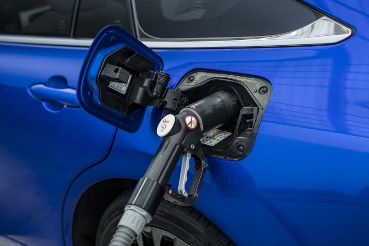 Repostaje Hidrogeno Verde Toyota Mirai