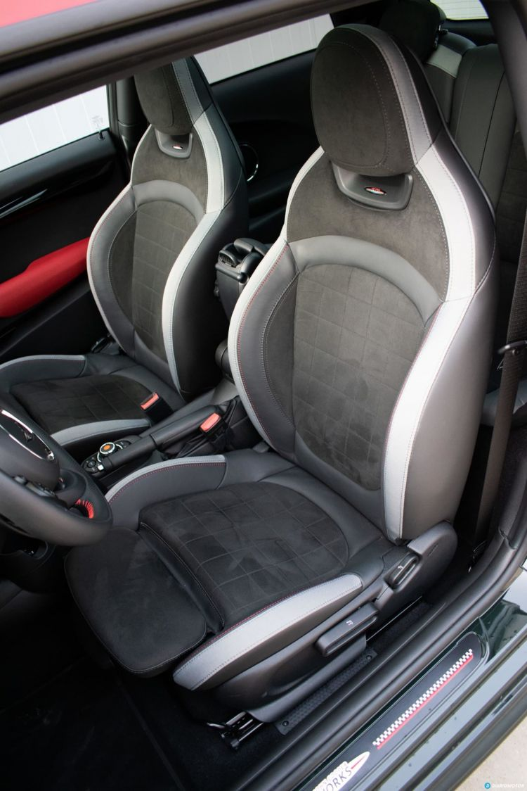 Review Prueba Mini Jcw 2021 Interior 02