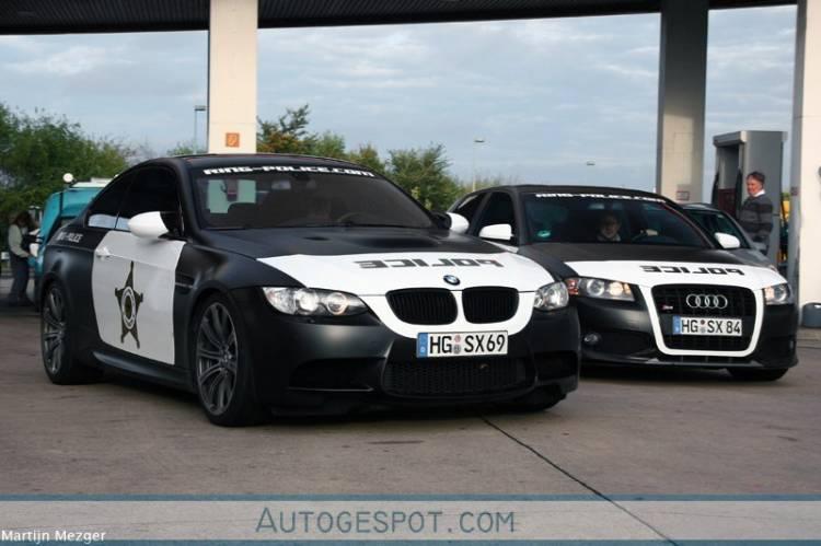BMW M3 y Audi S3 Ring Police