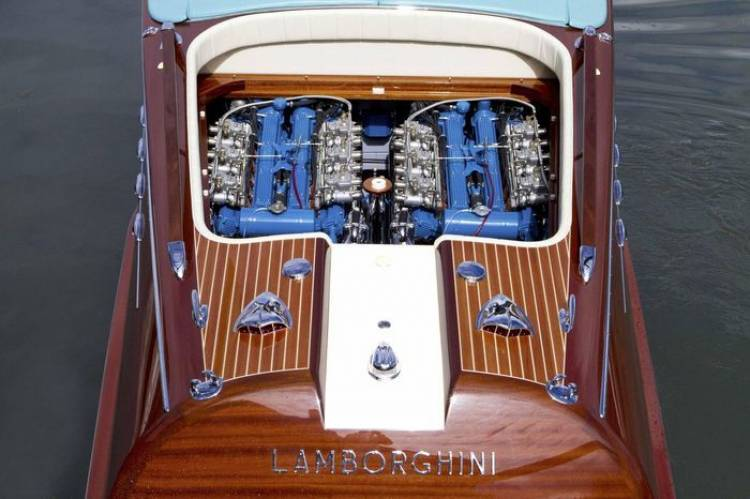 Riva Aquarama Lamborghini, el toro de agua de Ferruccio Lamborghini