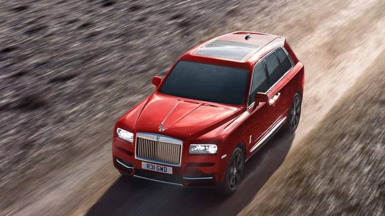 Rolls Royce Cullinan 0518 008