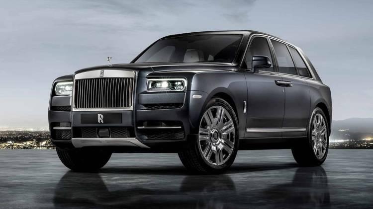 Rolls Royce Cullinan 0518 019