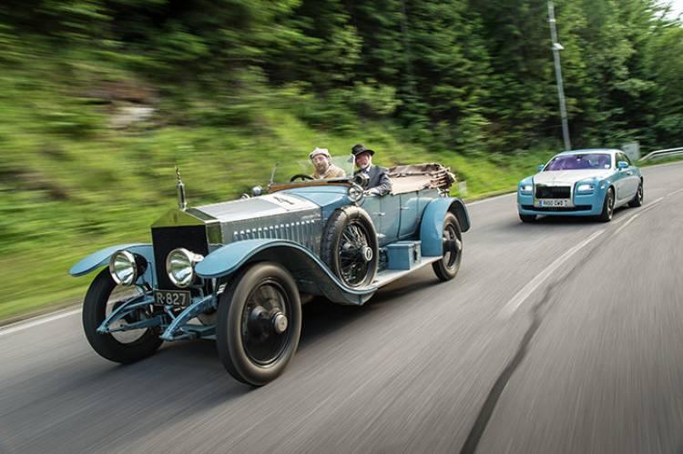 Rolls-Royce Silver Ghost 1908